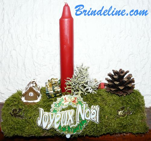Brindeline Decoration De Noel A Faire Soi Meme Buche De Noel