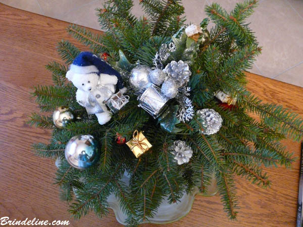 Brindeline Décors De Branches De Sapin Pour Noël