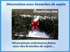 deco branches sapin
