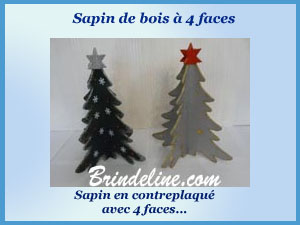 sapin 4 faces
