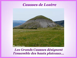 causses lozere