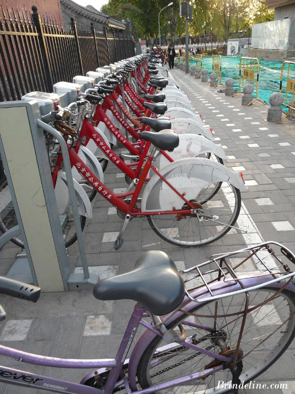 Parking à vélos en Chine