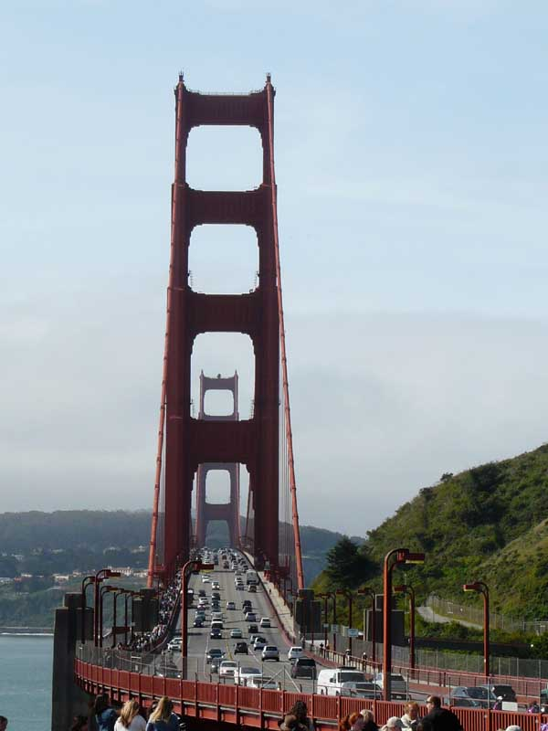 golden gate bridge à San Francisco  (Ouest américain)